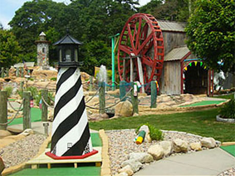 Cape Cod Mini Golf, Cape Cod Golf Courses, Golfing On Cape Cod